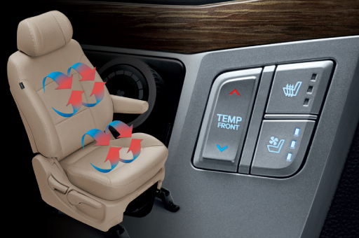 Heated/Ventilated Driver's Seat